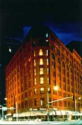 The exterior of The Brown Palace Hotel & Spa, Autograph Collection in Denver, Colorado