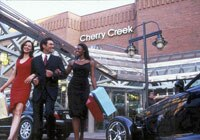 Cherry Creek North is a popular Denver area shopping mall
