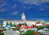 The stunning capital, Reykjevik