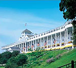 Sleep in at the Grand Hotel in Mackinac Island, Michigan