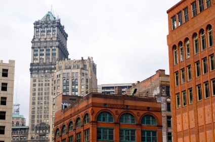 Historic buildings in Detroit