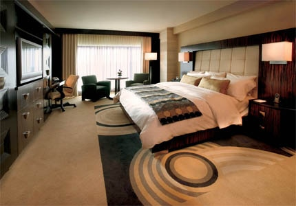 A room at MotorCity Casino-Hotel in Detroit