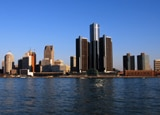 Detroit, Michigan's skyline