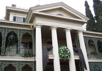 The Haunted Mansion is a favorite attraction at Disneyland
