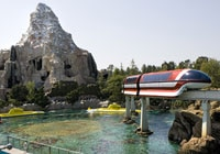 The Matterhorn and Monorail offer the Disney experience at two different speeds