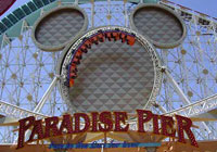 Take a stroll down Paradise Pier at California Adventure