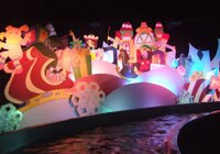 It's a Small World is one of many classic Disneyland attractions