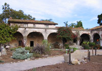 South wing of Mission San Juan Capistrano