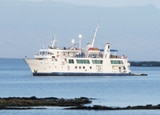 The Yacht Isabella II, providing tours to the Galapagos Islands in Ecuador