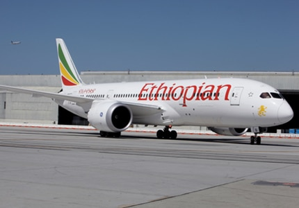 In 2015, Ethiopian airlines began flight service to Los Angeles