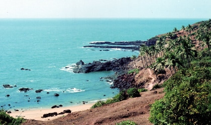 The serene beaches of Goa, India provide a welcome holiday escape