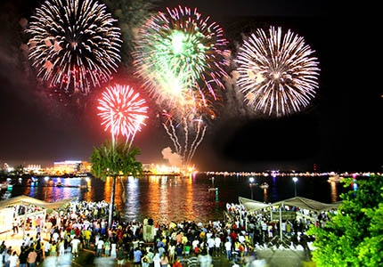 Enjoy fireworks and parties on the beach in Miami, one of GAYOT's Top 10 New Year's Destinations