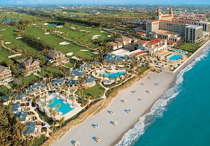 The Breakers Palm Beach resort in Florida