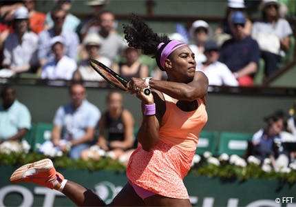 Watch top players, such as Serena Williams, battle it out on the tennis court during Roland-Garros in Paris, France