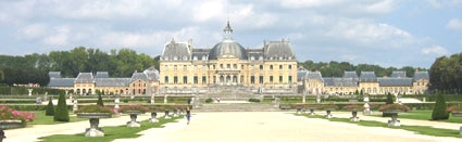 Vaux-le-Vicomte in France