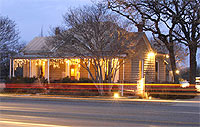 The Nest restaurant in Fredericksburg, Texas