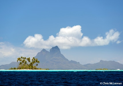 A view of Bora Bora