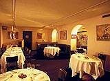 The dining room of Tiger-Restaurant in Frankfurt, Germany
