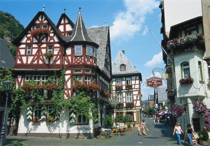 Bacharach, the most idyllic of the Rhine villages