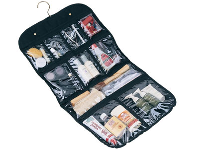 Hanging Cosmetic and Grooming Travel Bag, one of GAYOT.com's Top 10 Travel Gifts