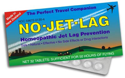 No-Jet-Lag is a homeopathic medicine that helps combat the bothersome symptoms of jet lag