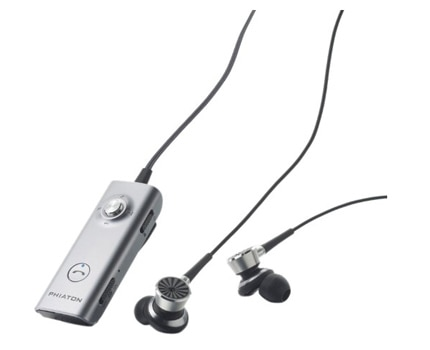 The Phiaton PS 210 BTNC Bluetooth 3.0 Active Noise Cancelling Stereo Earphones with Mic