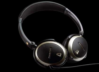 Phiaton's PS300 NC model noise-cancelling headphones