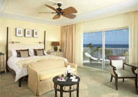 A guest room at The Kahala Hotel & Resort in Honolulu