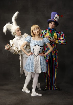 Join Alice, the Mad Hatter and the White Rabbit for the ALICE (in Wonderland) Ballet