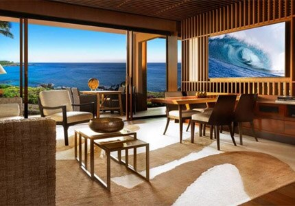 Four Seasons Resort Lana'i is one of GAYOT's Top 10 Hotels in Hawaii