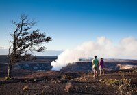 Halemaumau Crater in Hawaii Volcanoes National Park