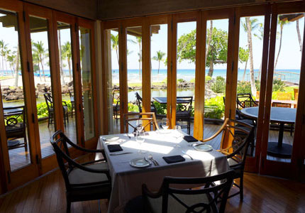 Ocean views make Canoe House one of the Top 10 Romantic Restaurants in Hawaii
