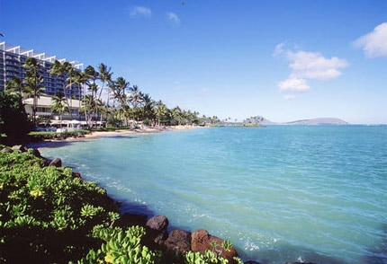 The beachfront setting of The Kahala Hotel & Resort