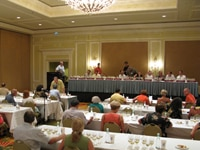 A tasting seminar at the Kapalua Wine & Food Festival