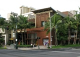 An exterior view of the Royal Hawaiian Center