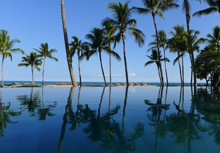 Four Seasons Resort Hualalai at Historic Ka'upulehu offers a serene escape on the Big Island of Hawaii