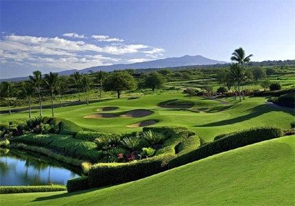 The 11th hole at the Jack Nicklaus Signature Course Club at Hokuli'a
