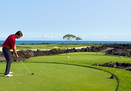 The Hualalai Golf Course in Kailua-Kona, Hawaii, one of GAYOT's Top 10 Golf Courses in Hawaii