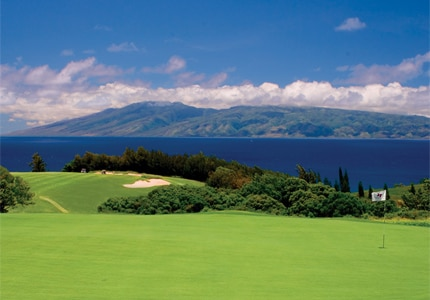 The Plantation Course at Kapalua Resort is built around the West Maui Mountains