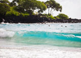 Hamoa Beach offers superb bodysurfing and body boarding in the winter, great swimming and snorkeling in the summer