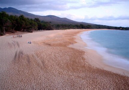 "Maui's Makena Beach, one of our Top 10 Hawaii Beaches, has an adjacent ""Little Beach"" that's a favorite among topless sunbathers"
