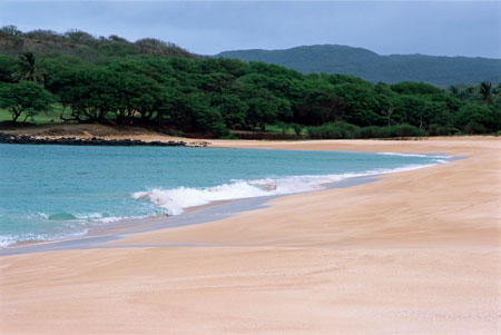 Papohaku Beach hosts the annual Molokai Ka Hula Piko cultural festival and is one of GAYOT.com's Top 10 Beaches in Hawaii