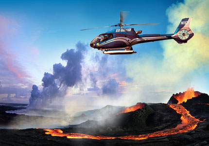 See the sights from above with Blue Hawaiian Helicopter Tours, one of GAYOT's Top 10 Things to Do on the Big Island