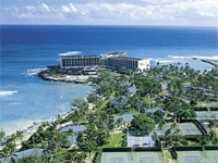 A view of the Turtle Bay Resort