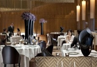 Amber restaurant at the Landmark Mandarin Oriental, Hong Kong