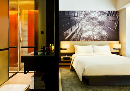 A stylish room at east Hong Kong