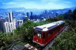 The Peak Tram has been carrying passengers to the top of Hong Kong since 1888