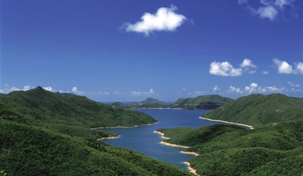 High Island Reservoir in Sai Kung, Hong Kong