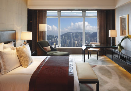 Grand Victoria Harbour Room at The Ritz-Carlton, Hong Kong