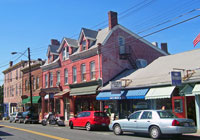 Downtown New Paltz is a popular hangout for students, artists and foodies